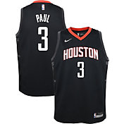 Nike Youth Houston Rockets Chris Paul #3 Black Dri-FIT Swingman Jersey