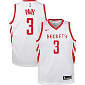 Nike Youth Houston Rockets Chris Paul #3 White Dri-FIT Swingman Jersey
