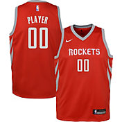Nike Youth Full Roster Houston Rockets Red Dri-FIT Swingman Jersey