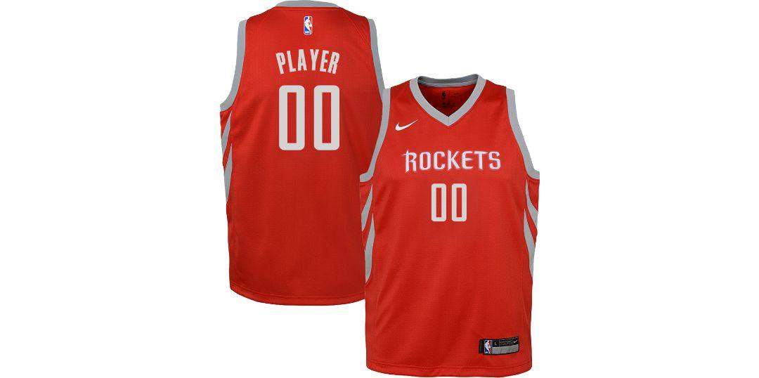 info for 14131 b297b Nike Youth Full Roster Houston Rockets Red Dri-FIT Swingman Jersey
