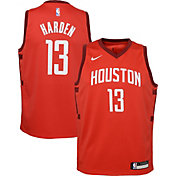 Nike Youth Houston Rockets James Harden Dri-FIT Earned Edition Swingman Jersey