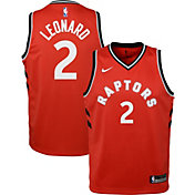 Nike Youth Toronto Raptors Kawhi Leonard #2 Red Dri-FIT Swingman Jersey