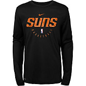 Nike Youth Phoenix Suns Dri-FIT Practice Long Sleeve Shirt