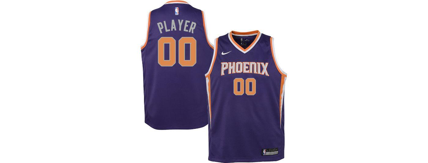 Nike Youth Full Roster Phoenix Suns Purple Dri-FIT Swingman Jersey