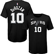Nike Youth San Antonio Spurs DeMar DeRozan #10 Dri-FIT Black T-Shirt