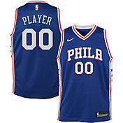 Nike Youth Full Roster Philadelphia 76ers Royal Dri-FIT Swingman Jersey