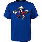 Nike Youth Philadelphia 76ers Ben Franklin Logo Royal T-Shirt