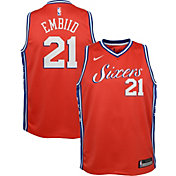 ab341913dbdf Product Image · Nike Youth Philadelphia 76ers Joel Embiid Dri-FIT City  Edition Swingman Jersey