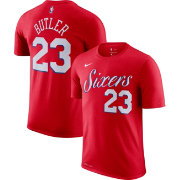 Nike Youth Philadelphia 76ers Jimmy Butler #23 Dri-FIT Red T-Shirt