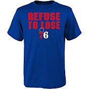 Nike Youth Philadelphia 76ers ''Refuse To Lose'' T-Shirt