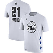 Jordan Youth 2019 NBA All-Star Game Joel Embiid Dri-FIT White T-Shirt