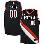 Nike Youth Full Roster Portland Trail Blazers Black Dri-FIT Swingman Jersey