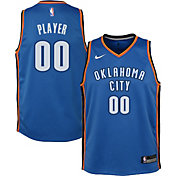 Nike Youth Full Roster Oklahoma City Thunder Blue Dri-FIT Swingman Jersey