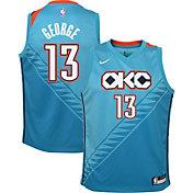Nike Youth Oklahoma City Thunder Paul George Dri-FIT City Edition Swingman Jersey
