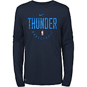 Nike Youth Oklahoma City Thunder Dri-FIT Practice Long Sleeve Shirt
