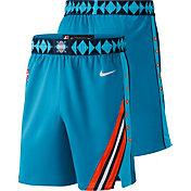Nike Youth Oklahoma City Thunder Dri-FIT City Edition Swingman Shorts