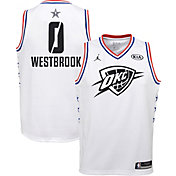 Jordan Youth 2019 NBA All-Star Game Russell Westbrook White Dri-FIT Swingman Jersey