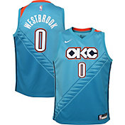 5b56f4fd0 Product Image · Nike Youth Oklahoma City Thunder Russell Westbrook Dri-FIT  City Edition Swingman Jersey
