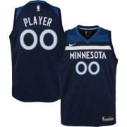 Nike Youth Full Roster Minnesota Timberwolves Navy Dri-FIT Swingman Jersey