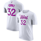 Nike Youth Minnesota Timberwolves Karl-Anthony Towns Dri-FIT Earned Edition T-Shirt