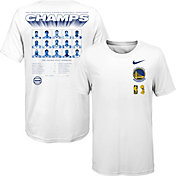 Nike Youth 2018 NBA Champions Golden State Warriors Dri-FIT Roster T-Shirt