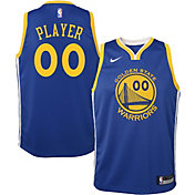 b7f1f35af25 Nike Youth Full Roster Golden State Warriors Royal Dri-FIT Swingman Jersey