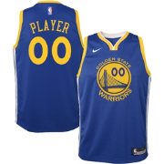 Nike Youth Full Roster Golden State Warriors Royal Dri-FIT Swingman Jersey
