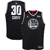 Jordan Youth 2019 NBA All-Star Game Steph Curry Black Dri-FIT Swingman Jersey