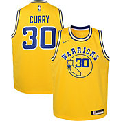 Nike Youth Golden State Warriors Steph Curry Dri-FIT Hardwood Classic Swingman Jersey