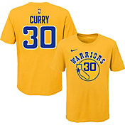 Nike Youth Golden State Warriors Steph Curry Dri-FIT Hardwood Classic T-Shirt