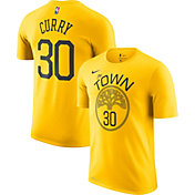 Nike Youth Golden State Warriors Stephen Curry Dri-FIT Earned Edition T-Shirt