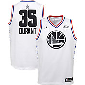 Jordan Youth 2019 NBA All-Star Game Kevin Durant White Dri-FIT Swingman Jersey
