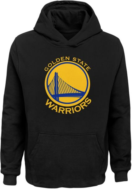 Outerstuff Youth Golden State Warriors Black Pullover Hoodie ... 404b2c4d1