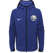 Nike Youth Golden State Warriors On-Court Dri-FIT Showtime Full-Zip Hoodie