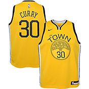 Nike Youth Golden State Warriors Stephen Curry Dri-FIT Earned Edition Swingman Jersey