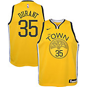 3c317fa9f Product Image · Nike Youth Golden State Warriors Kevin Durant Dri-FIT  Earned Edition Swingman Jersey