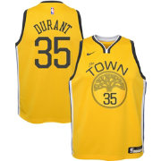 Nike Youth Golden State Warriors Kevin Durant Dri-FIT Earned Edition Swingman Jersey