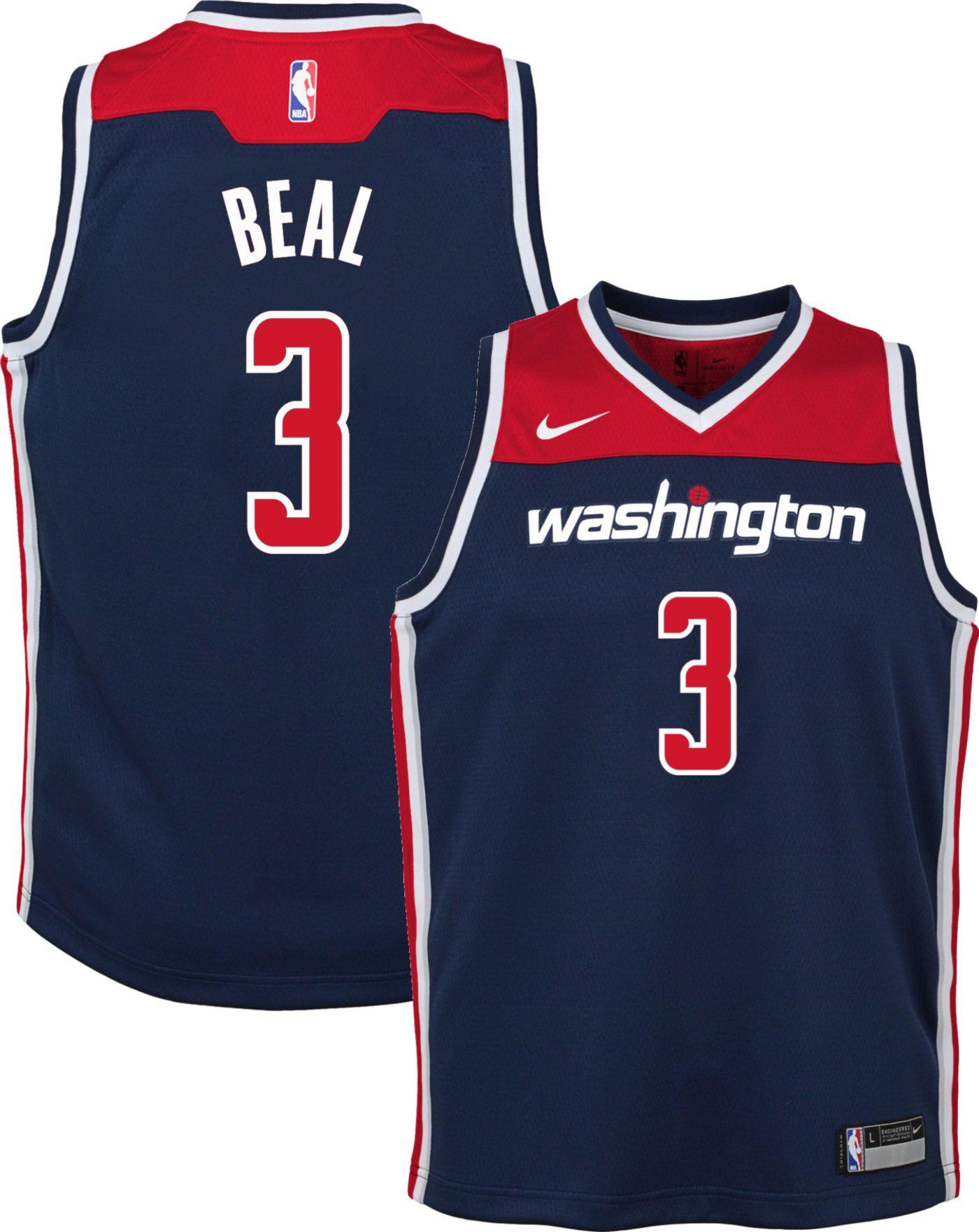 Nike Youth Washington Wizards Bradley Beal #3 Navy Dri-FIT Statement Swingman Jersey