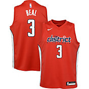 Nike Youth Washington Wizards Bradley Beal Dri-FIT Earned Edition Swingman Jersey