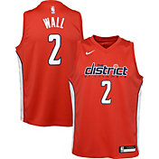 Nike Youth Washington Wizards John Wall Dri-FIT Earned Edition Swingman Jersey