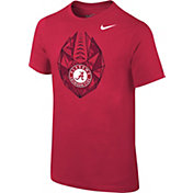 Nike Youth Alabama Crimson Tide Crimson Football Icon T-Shirt