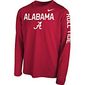 Nike Youth Crimson Crimson Legend Core Long Sleeve Shirt