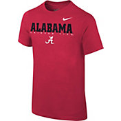 Nike Youth Alabama Crimson Tide Crimson Football Dri-FIT Facility T-Shirt