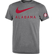 Nike Youth Alabama Crimson Tide Grey DNA Legend T-Shirt