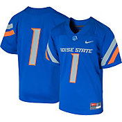 Nike Youth Boise State Broncos #1 Blue Game Football Jersey