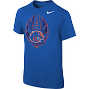 Nike Youth Boise State Broncos Blue Football Icon T-Shirt