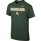 Nike Youth Baylor Bears Green Logo T-Shirt