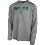 Nike Youth Baylor Bears Grey Legend Core Long Sleeve Shirt