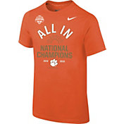 Nike Youth 2018 National Champions Clemson Tigers Celebration T-Shirt