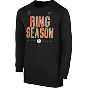 Nike Youth 2018 National Champions Clemson Tigers Locker Room Long Sleeve Shirt